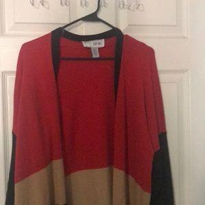 Joan Vass 3x long sweater